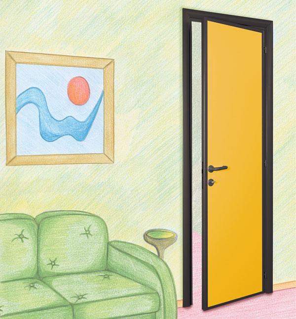 Porte interne per palestre bagni scuole piscine e - Porte per bagni ...